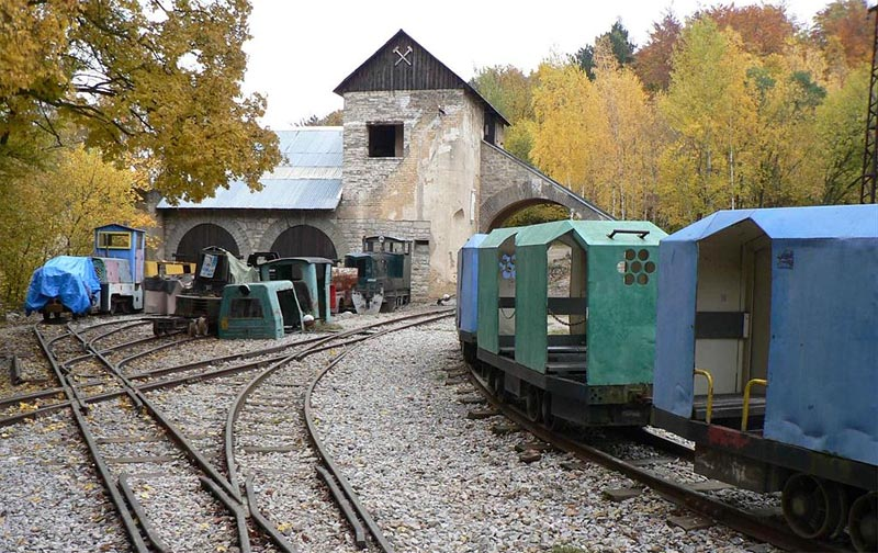 59 - Quarries of Salay - the museum of mining equipment including the ride on the mining train (37 km)